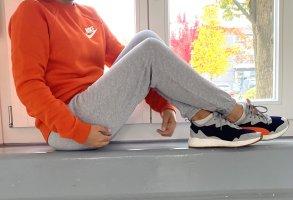Nike Rally Sweatshirt Orange Pullover