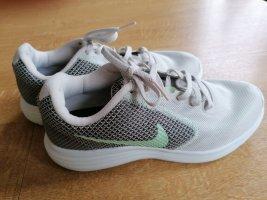NIKE REVOLUTION 3 Damen Lauf Schuhe Sneaker Grau Mint