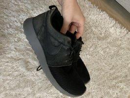 Nike Sneakers met veters zwart-antraciet