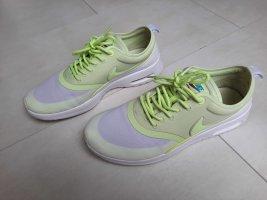 Nike Schnürsneaker grün- grau Casual-Look
