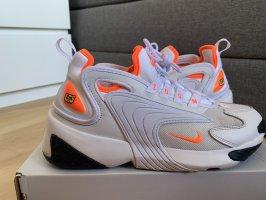 Nike Sneaker stringata bianco-arancione