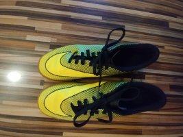 Nike Zapatos de patinador verde neón