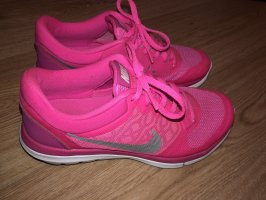 Nike Sneakers met veters roze-zilver