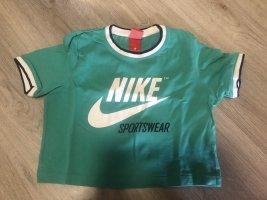 Nike Cropped Shirt green
