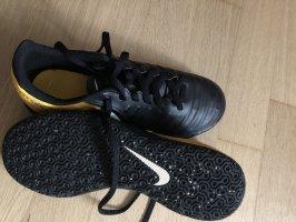 Nike Sneaker stringata nero-arancione chiaro