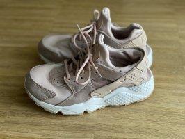 Nike sneaker Huarache rosa Glitzer 36