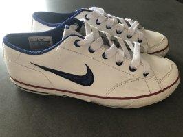 Nike Sneaker Vintage weiß-blau Gr. 37,5