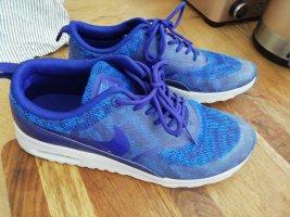 Nike Sneakresy na obcasie niebieski
