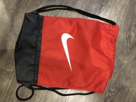 Nike Bolsa de gimnasio negro-rojo