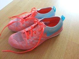 Nike Sportschuhe 38 wie neu! Corall neon blau apricot lachs