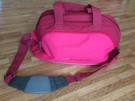 Nike Torba sportowa czerwony neonowy-ciemnoczerwony Poliester