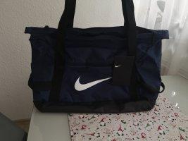 Nike Bolsa de gimnasio negro-azul oscuro