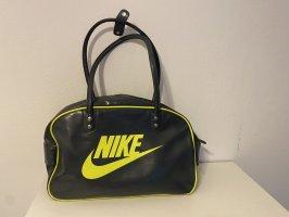 Nike Sporttas grijs-neongeel