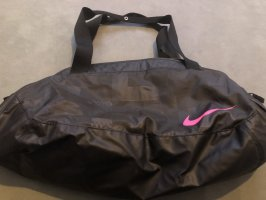 Nike Sports Bag black-pink