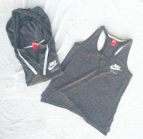 Nike Shirt Jacket light grey-grey