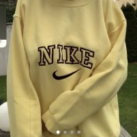 Nike Vintage Spellout Sweater