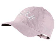 Nike Sweatshirt rose clair-blanc