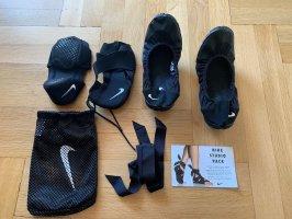 Nike Ballerines pliables noir