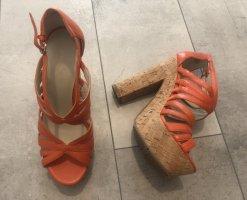 Nine west Platform Sandals multicolored