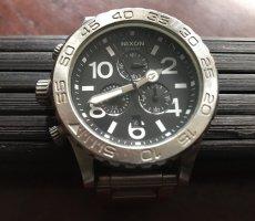 Nixon Reloj analógico negro-color plata