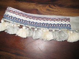 Cintura in tessuto multicolore Tessuto misto