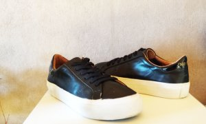 No Name Sneaker Arcade Altezza schwarz low