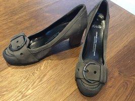 Kennel und Schmenger Loafer grigio scuro Pelle