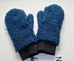Noisy May Fleece handschoenen blauw-staalblauw