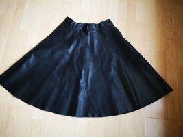 Noisy May Skórzana spódnica czarny