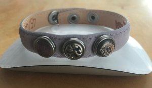 Noosa Armband mauve Leer