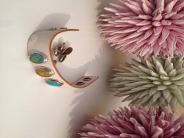 NOOSA Armband weiß inkl. 5 chunks