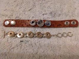 Noosa Bracelet argenté-brun