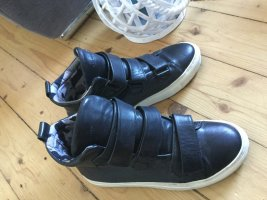 NP 199€ Royal Republiq Leder Sneaker Chuck Boots High - Black Schwarz 37,5