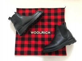 Woolrich Chelsea Boots black leather