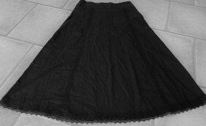 BPC Selection Premium Falda de lino negro