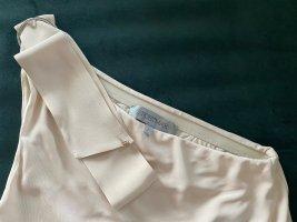 Sportmax Sukienka na jedno ramię kremowy-nude