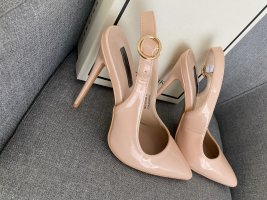 Nude Lost Ink  high heels