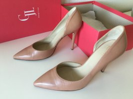Nude Love: Leder High Heels