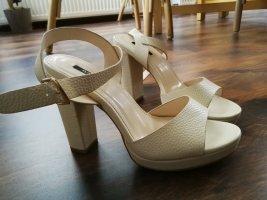 Jumex Plateauzool sandalen room-nude