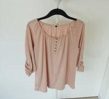 Nudefarbene Bluse, Größe XL, sehr guter Zustand