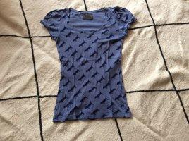 nümph T-Shirt//Allover Print//Blau//Größe S