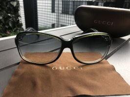 Gucci Bril khaki-groen-grijs