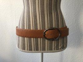 Nurage Cinturón de cuero multicolor Cuero