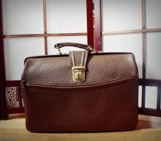 True Vintage Porte-documents cognac cuir