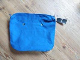 O bag Borsa shopper blu acciaio