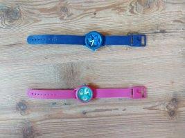 O bag Reloj analógico magenta-azul