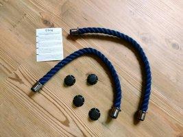 O bag Comprador azul oscuro