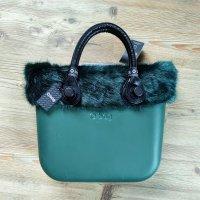 O bag Shopper vert foncé-vert forêt