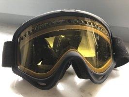 Oakley Lunettes noir-orange doré