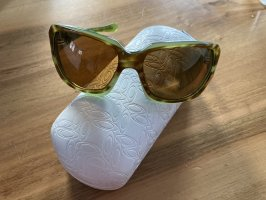 Oakley Glasses brown-lime-green